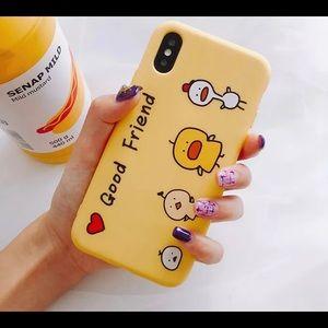 Cute good friend iPhone xs/x case